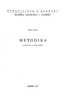 Milan Nagy - Metodika nastave Violončela